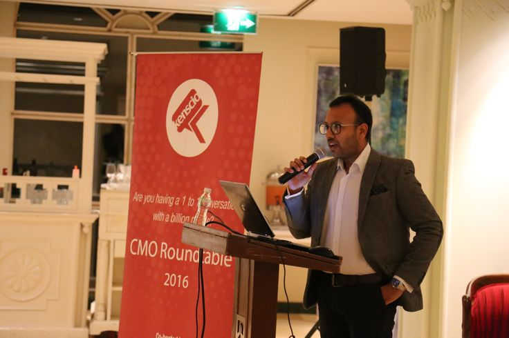 The CMO Roundtable Session 2016 was hosted by Manjunatha KG, CEO, Kenscio Digital and co-hosted by TMA (Formerly Teradata Marketing Applications).