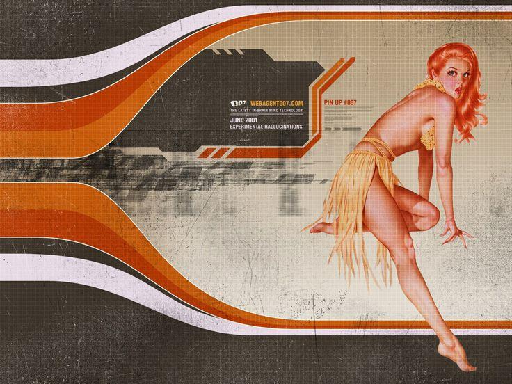 from Web Agent 007 - wallpaper - graphic design - web design