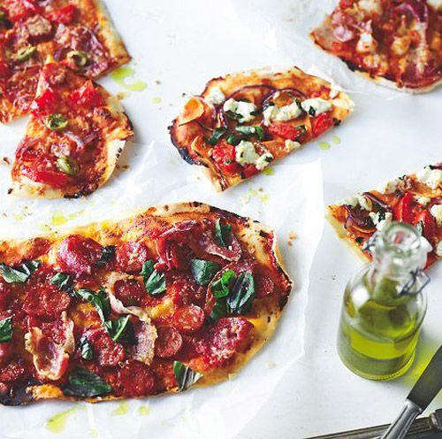 Eatlove – Justin North's Mediterranean Flatbread