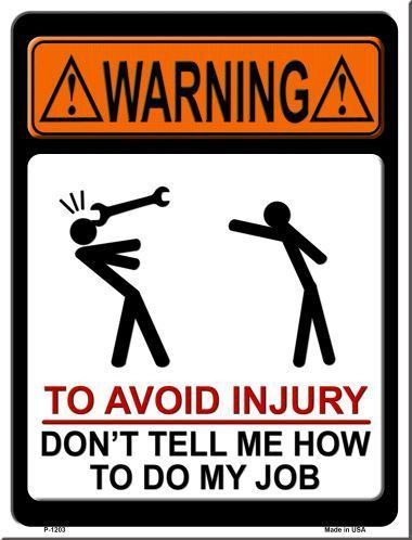 "If you get offended easily just pass this section and move on elsewhere. We love adult humor! 9"" x 12"" High gloss metal parking sign. Made of the highest quality aluminum for a weather resistant finis"