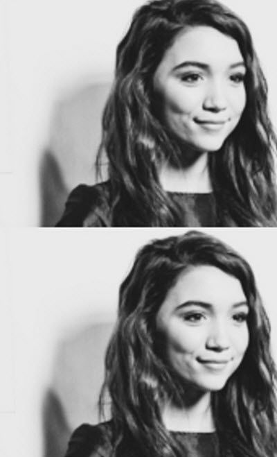 "Photos: Rowan Blanchard Pretty In Blue For ""Wicked"" At The Pantages Theatre December 11, 2014"