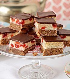 Cherry Ripe Slice » Recipes » Cadbury Kitchen