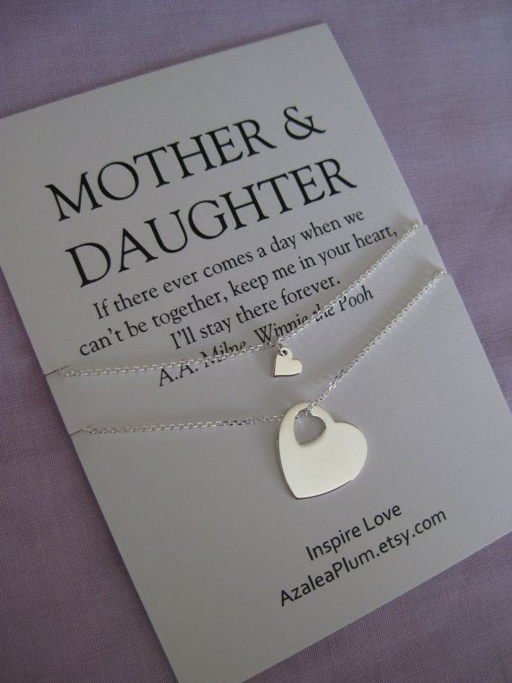 Mother Daughter Jewelry 50th Birthday Gift Mom By