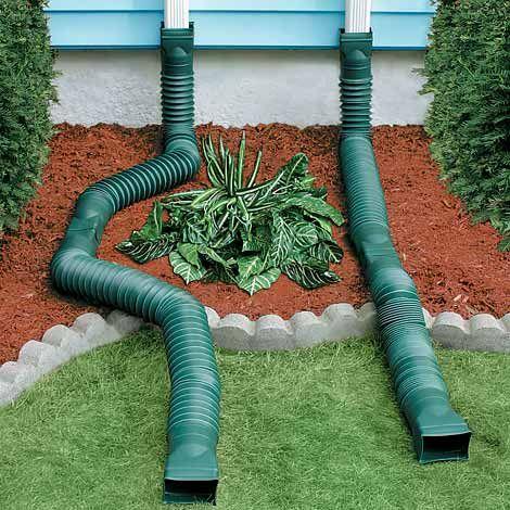 Flex A Spout Flex drain Downspout Diverters Control
