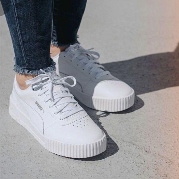 Puma Shoes | Womens White Carina Puma