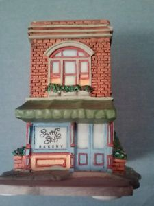 Jan Karon | Details about Hallmark Sweet Stuff Bakery Mitford Village by Jan Karon