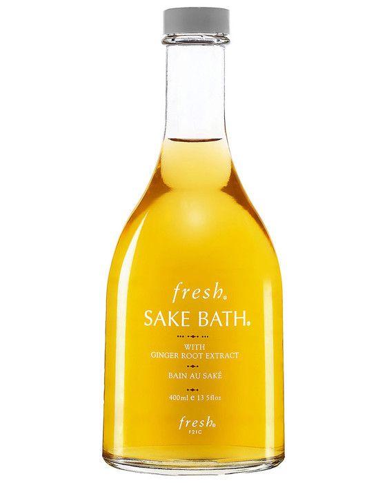 Used for years by Japanese women, the soothing formula leaves skin silky smooth! Sake Bath by Fresh, $82 fresh.com #beautypicks #bestofbeauty #sake