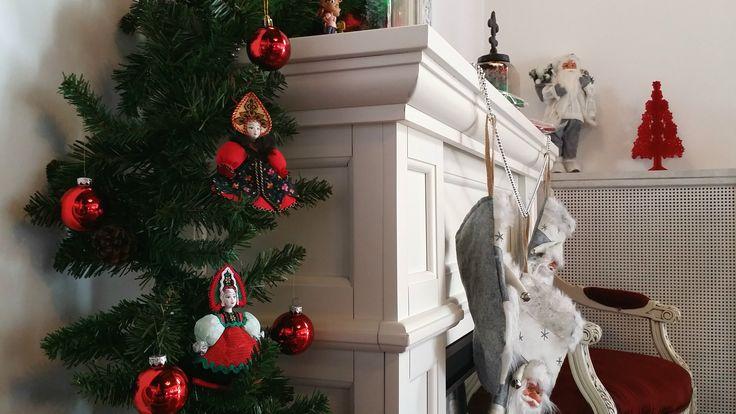 christmas decorations handmade  by villa princess of transylvania sinaia