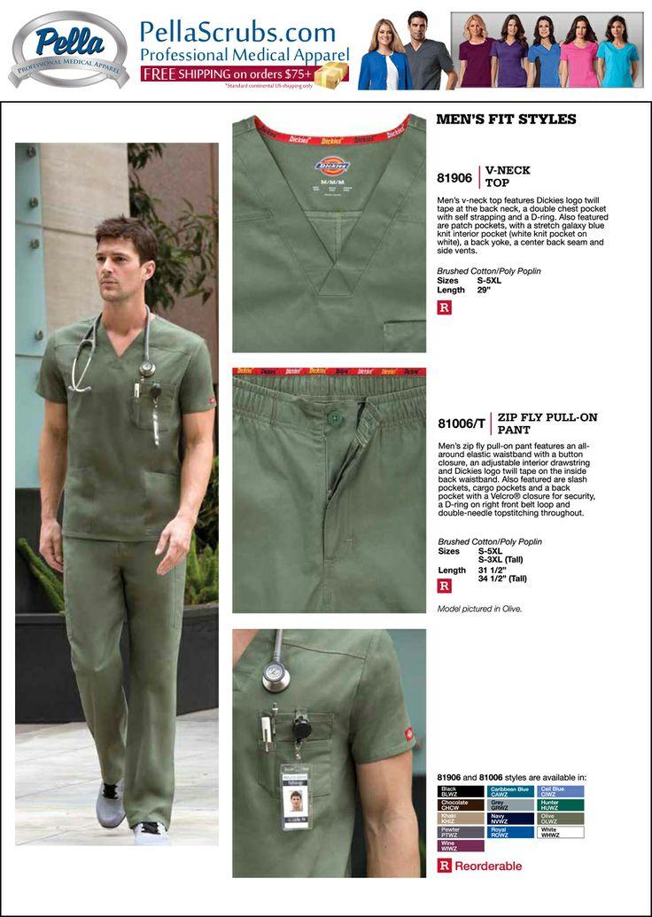 Dickies Scrubs & Uniforms at PellaScrubs.com #Nurse #Healthcare
