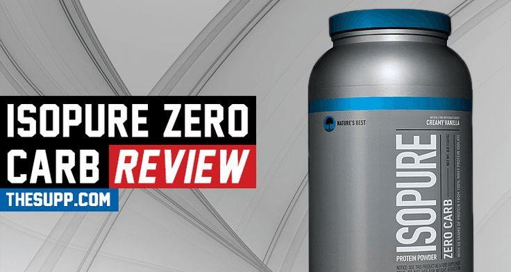 Isopure Zero Carb Review