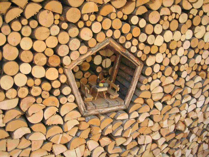 Val di Fiemme, Italia #legnaia #woodshed