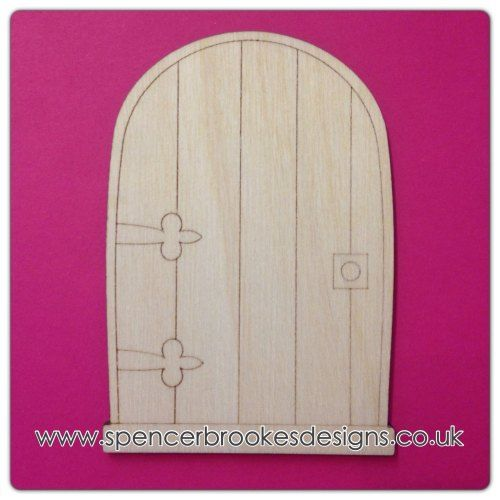 Laser Cut Wooden Shapes and Craft Shapes - Laser Cut Fairy Door - Spencer-Brookes Designs  sc 1 st  Pinterest & 38 best fairy doors images on Pinterest | Fairy doors Elf door ... pezcame.com