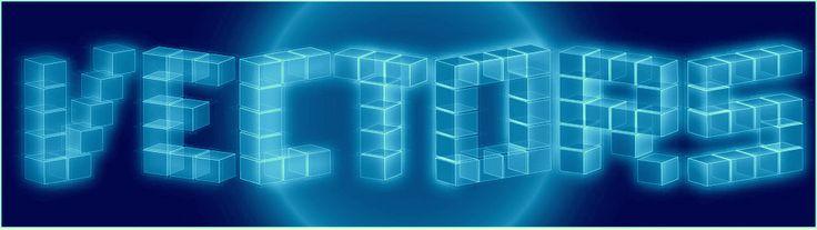 3D cube text