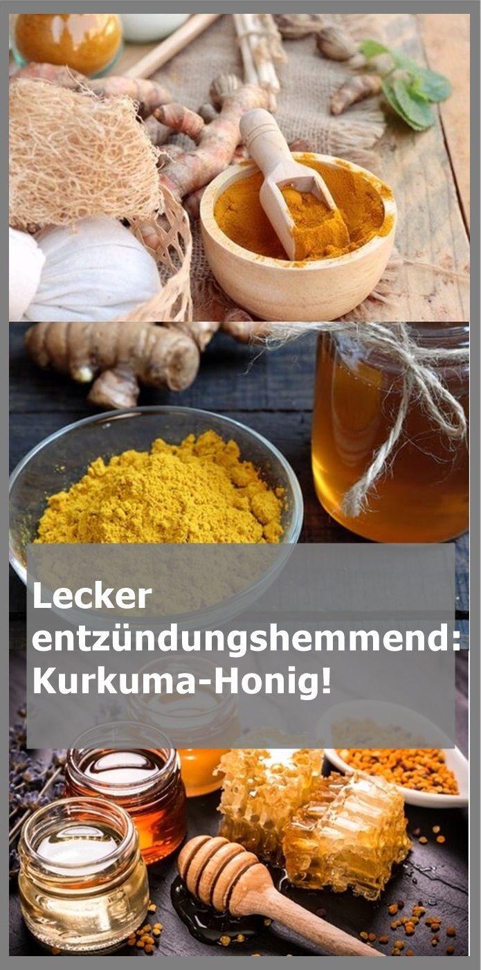 Lecker entzündungshemmend: Kurkuma-Honig! | drndex.com