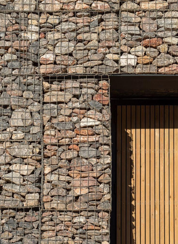 1093 best Gabion Ideas images on Pinterest Gabion wall Stone