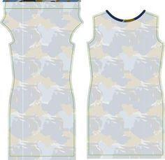 de droomfabriek: Gratis naaipatroon mouwloze jurk met gedrapeerde halslijn