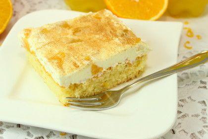 Fantakuchen mit fruchtiger Schmand-CremFantakuchene & Zimt