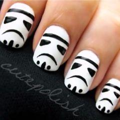 Storm trooper nails. NEXT