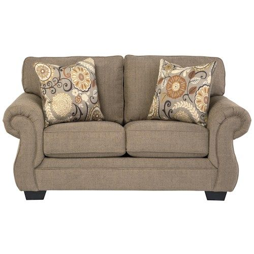 benchcraft tailya loveseat with coil seating