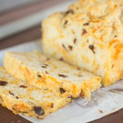 Bacon and Cheddar Beer Bread | Brown Eyed Baker: I may add jalapenos ...