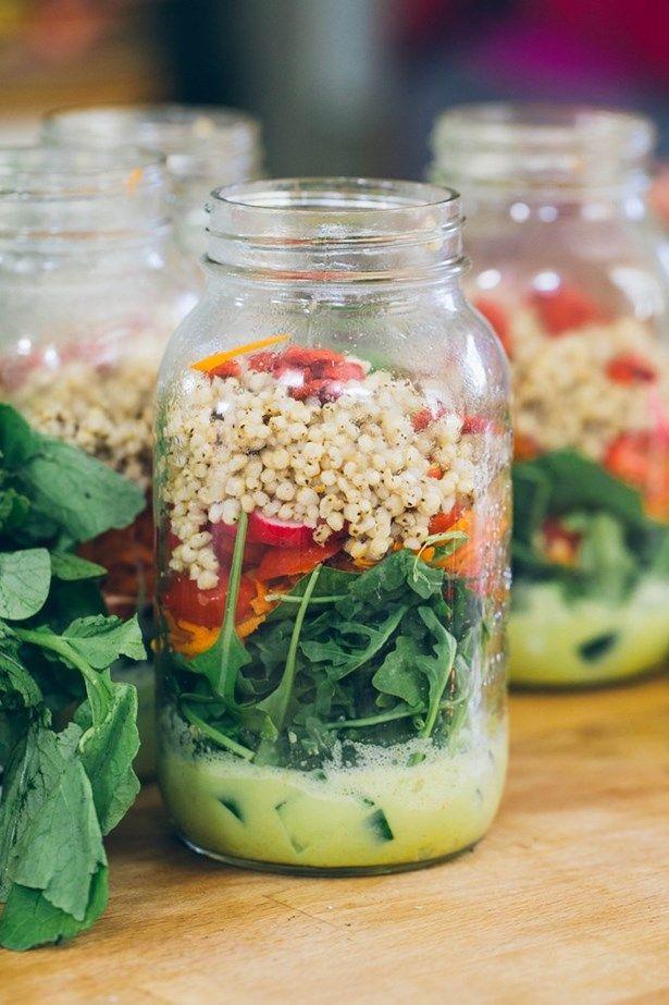 salade pot masson vive audrey skoropad jacynthe rené sauce lait de coco