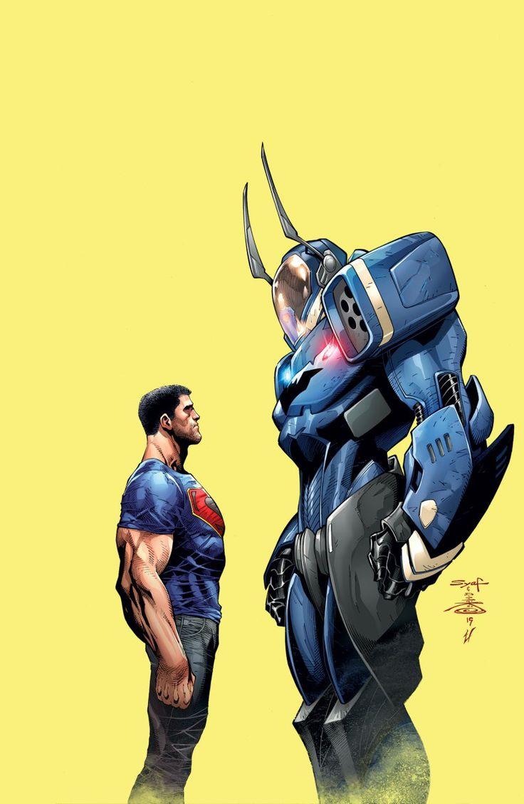 Batman/Superman #1 cover by Adrian Syaf.