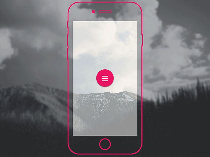 Material Design Button Animation | Motion Graphics in Mobile User Interface & Interaction Design
