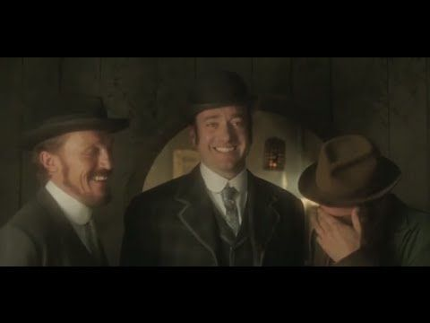 RIPPER STREET - Series 2 - Behind the Scenes - first video I see where Matthew is practically laughing the whole time... ADORABLEEEE!!!! #MatthewMacfadyen #RipperStreet