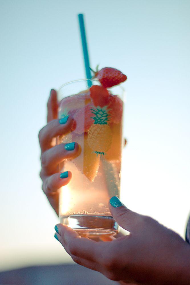 fraisibulle: mon cocktail sans alcool