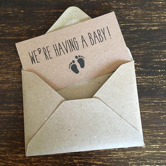 Best 25+ Pregnancy announcement cards ideas on Pinterest   Baby ...
