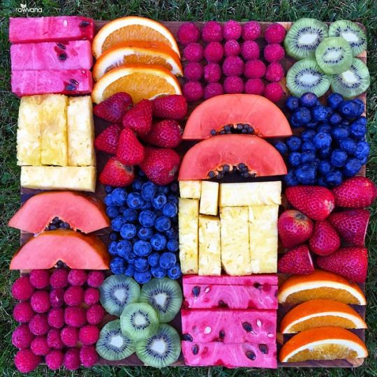 nice fruit platter