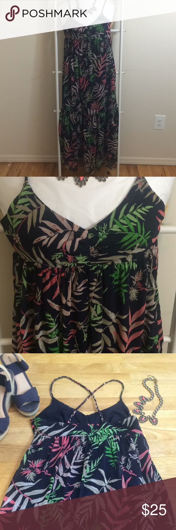 Floral The Webster Miami at Target Maxi Dress Floral The Webster Miami at Target Maxi Dress Limited Run Target Line Size 6  100% Polyester  Excellent Used Condition The Webster at Target Dresses Maxi