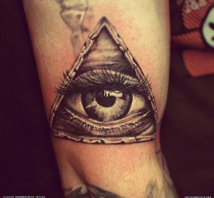 25 great ideas about all seeing eye tattoo on pinterest for Eye tattoo art