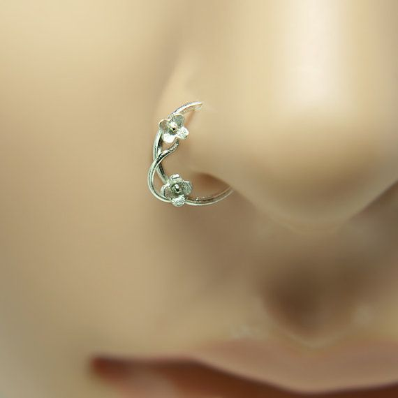 Hey, I found this really awesome Etsy listing at https://www.etsy.com/uk/listing/230130540/nose-ring-flower-motif-customize
