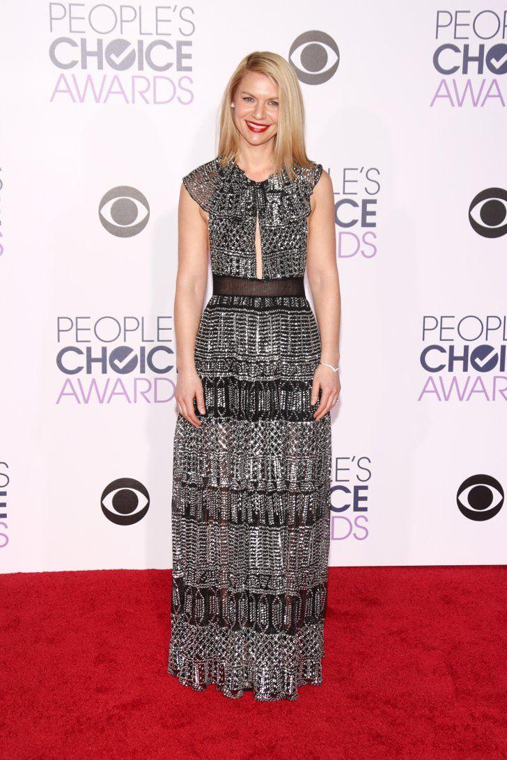 Pin for Later: Le Tapis Rouge des People's Choice Awards 2016 Était Plus Glam Que Jamais Claire Danes