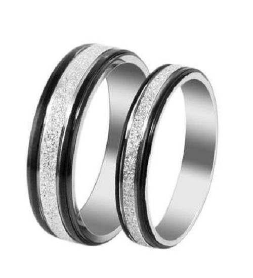 Matching wedding bands black