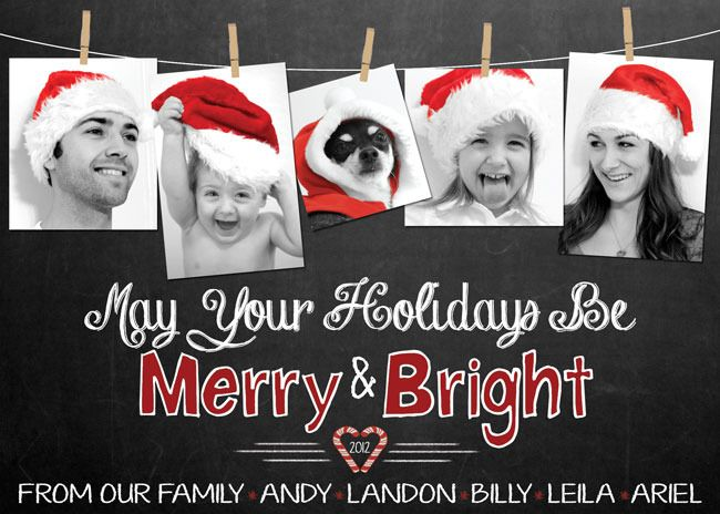 Cute holiday card idea... using photoshop