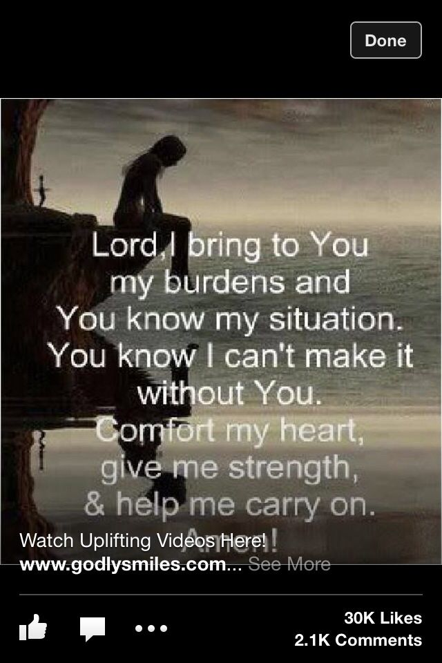Thank you lord for hearing my simple prayers for I am no one!
