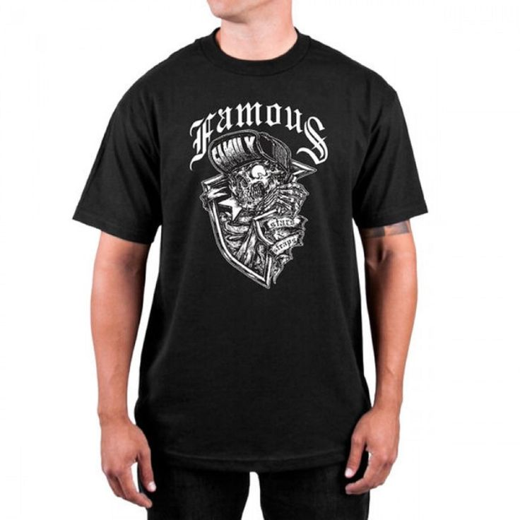 New products just in! Famous Men's Cree... is in stock now! Grab it here http://left-coast-threads.myshopify.com/products/famous-mens-creeper-tee-black-fm01170060?utm_campaign=social_autopilot&utm_source=pin&utm_medium=pin  Join our rewards program, share & earn points!