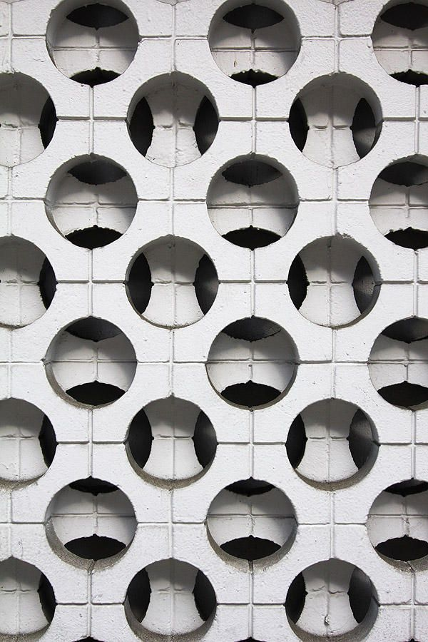 #Concrete #block screen wall pattern, M Street, Washington, D.C. http://t.co/A1upL5n9