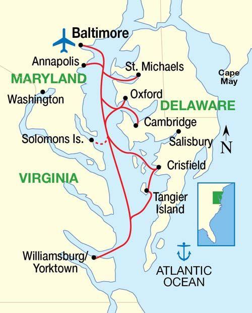 Cruising the Chesapeake Bay!