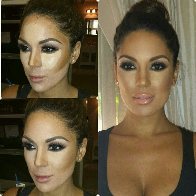 No caption. Miss @carissarosario. Before. After. Final. Workshop info in previous post. Muagabyt@gmail.com for details. #muagaby #enhancedbeauty #workshop