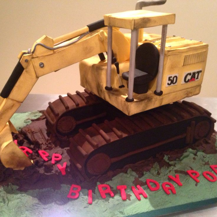 Fabulous JCB digger cake created by our adjoins company Sticky Face Cakes checkout their Facebook page.