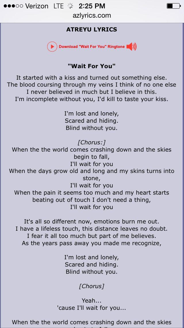 Lyric i believe in you lyrics : 43 best BANDSSS images on Pinterest | Lyrics, Music lyrics and ...