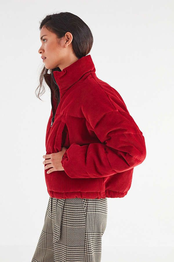 02e5d1961d695 UO Corduroy Puffer Jacket | @giftryapp | HOME in 2019 | Puffer ...