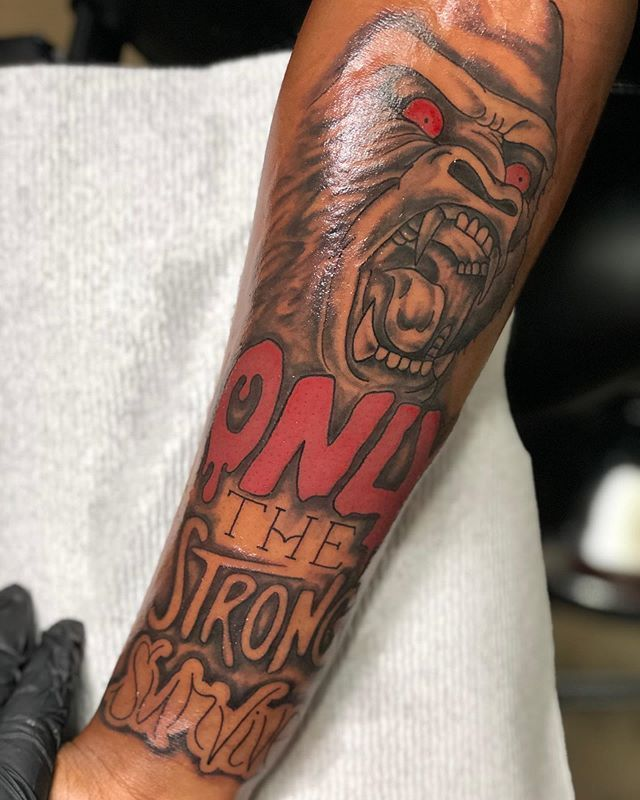 Only The Strong Survive Tattoo Lion : strong, survive, tattoo, Tattoo