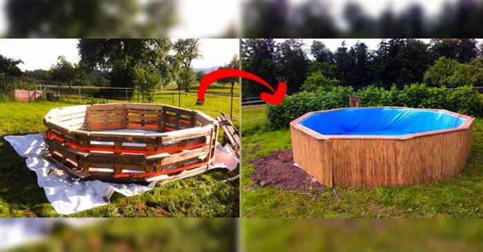 25 melhores ideias de lona para piscina no pinterest for Como hacer una piscina economica