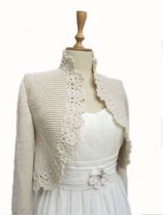 Strick Cardigan Hand gestrickte Pullover von crochetbutterfly