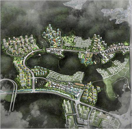 강남 세곡 '숲속의 디자인 파크시티'