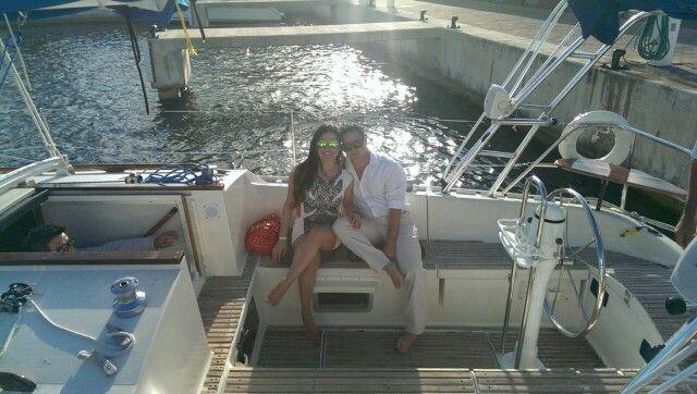 Entrega #AnillodeCompromiso Navegando el mar caribe  www.lovememories.com.mx Siempre #CreandoMomentosMemorables